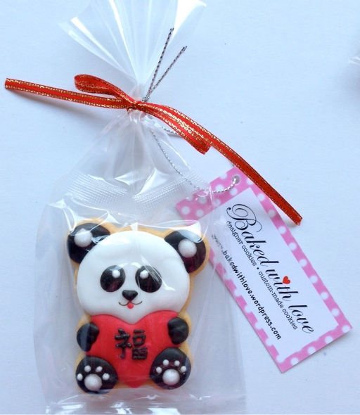 "1 free ""Prosperity Panda"" cookie for every $50 purchase! (While stock last!)"